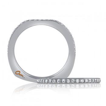 18 KARAT WHITE GOLD DIAMOND WEDDING BAND with 26 Diamond(s) 0.25ctw