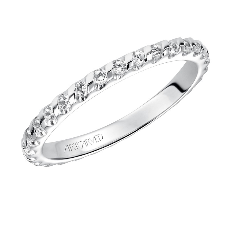 Channel Set Eternity Band - 33-V86C4W65