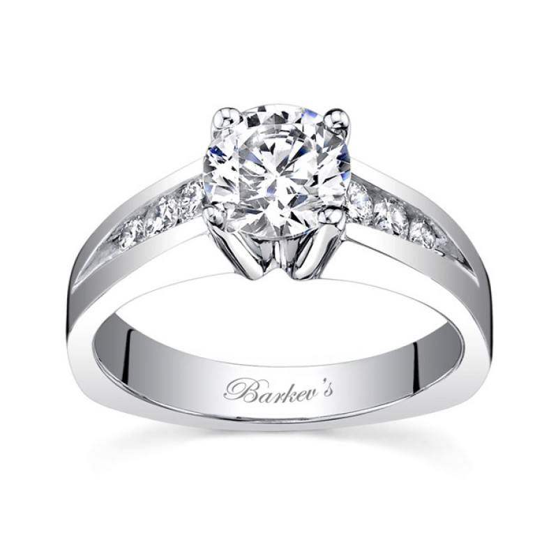 White Gold Engagement Ring - 7541LW