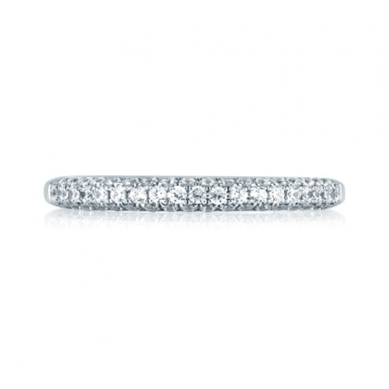 Simple Close Pavé Set Anniversary Ring