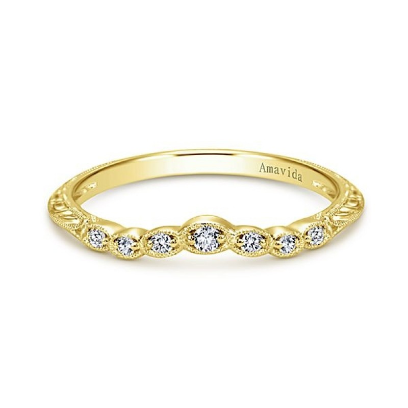 gold nl curved ring in rings yg her wedding custom band for matching diamond jewelry white yellow with
