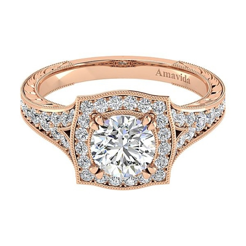 b49adf09d77 Rose Gold Engagement Band - Image Of Bear and Rose Imagetool.Co