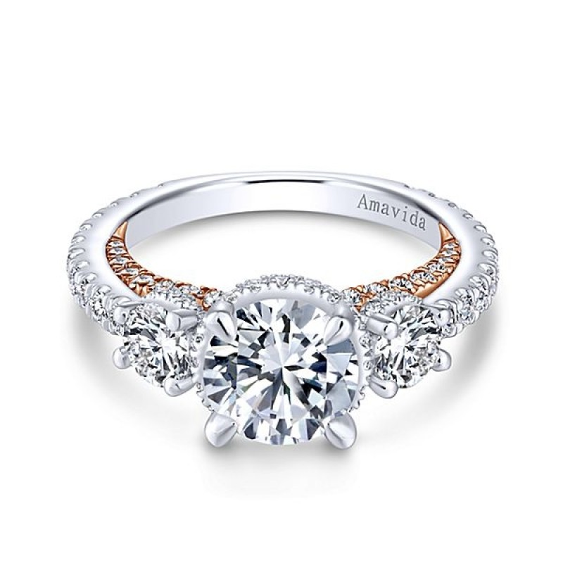 marquise rings products stone a two engagement diamond ring upon once tone gold