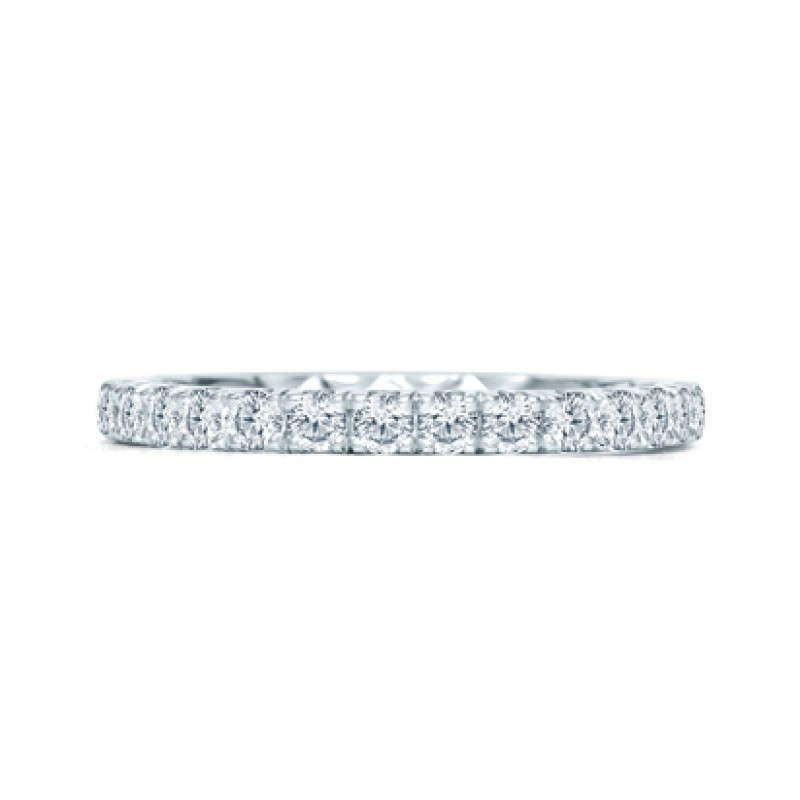 Halfway French pav? Quilted Anniversary Band