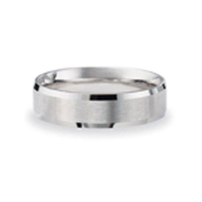 14 KARAT WHITE GOLD GENTS BAND - 2788G