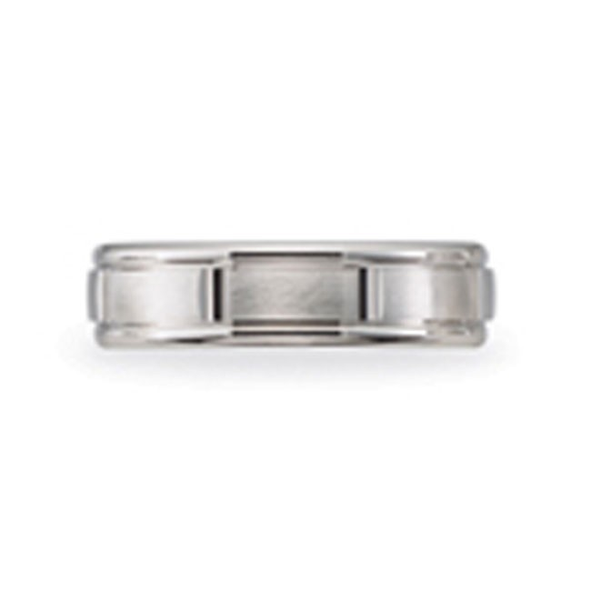 14 KARAT WHITE GOLD GENTS BAND - 2792G
