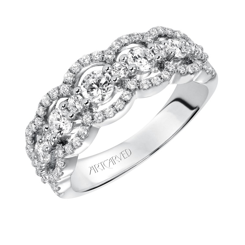 jewelers bands anniversary ring jewelry wixon band wide diamond