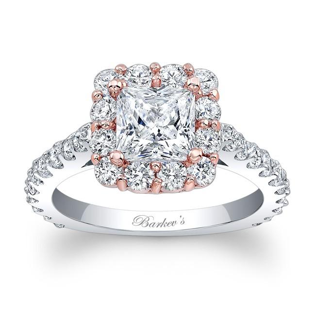 Barkev S Princess Cut Engagement Ring 7939ltw