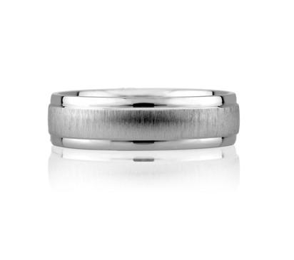 Satin Classic Men's Ring
