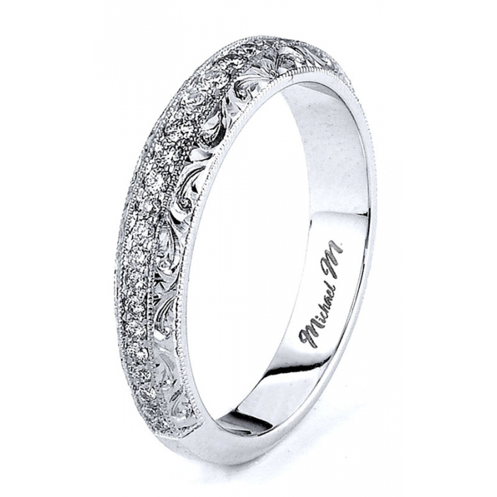 Michael M Wedding Bands R582B