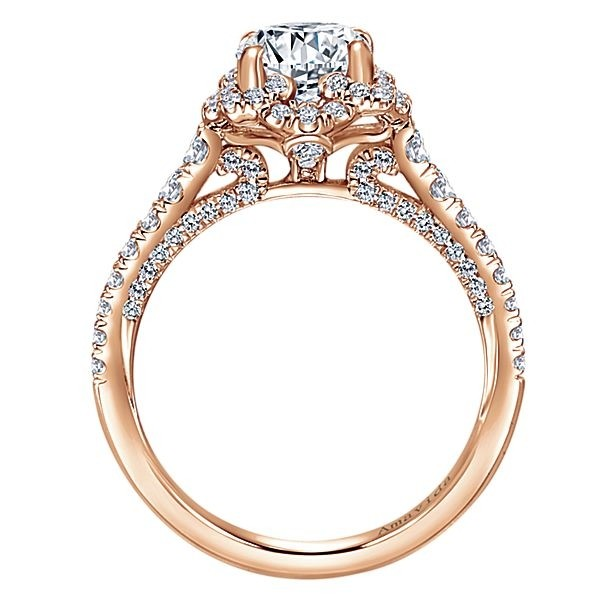 amavida ring diamond products platinum gallery mounting round rings straight alexandra gabriel engagement with ornate