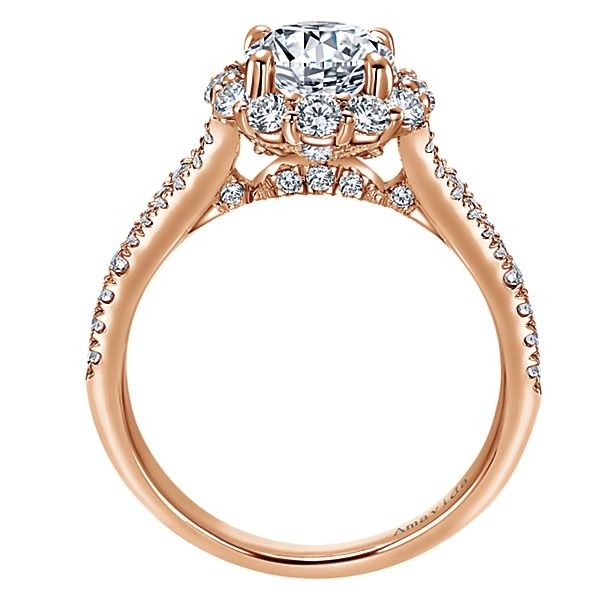 collections of amavida large gabriel with platinum round mounting engagement rings halo diamond by collection