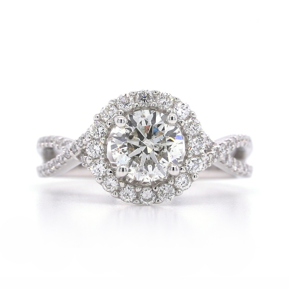 Bridal Rings Company Engagement Ring in 18k White Gold