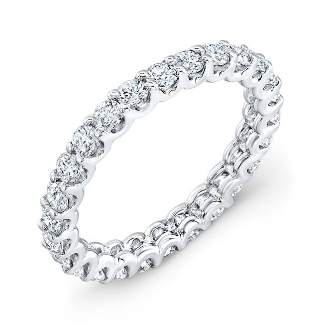 18 KARAT WHITE GOLD WEDDING RING with diamonds - WB0419