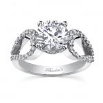 14 KARAT WHITE GOLD WEDDING RING with 52 Diamond(s) 0.56ctw