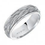Men's Artcarved Wedding Band - 11-WV79W7