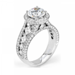 Michael M Princesse Diamond Engagement Ring