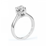 Michael M Amore Solitaire Diamond Engagement Ring