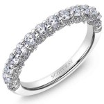 White Gold Scott Kay Diamond Wedding Band