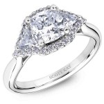 White Gold Scott Kay Diamond Engagement Ring