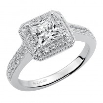 Sashan' Diamond Halo Engagement Ring  - 31-V347ECW-E.00