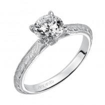 Imani' Solitaire Diamond Engagement Ring  - 31-V498ERW-E.00