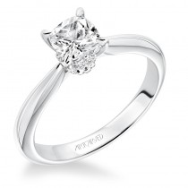 Paige' Diamond Solitaire Engagement Ring - 31-V615EUW