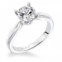 Nelly' Solitaire Diamond Engagement Ring - 31-V618GRW