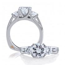 18 KARAT WHITE GOLD WEDDING RING with diamonds - 3144WR-A