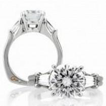 18 KARAT WHITE GOLD WEDDING RING with 2 Diamond(s) 1.15ctw