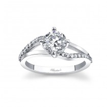 White Gold Engagement Ring - 7717LW