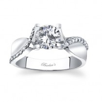 White Gold Engagement Ring - 7725LW