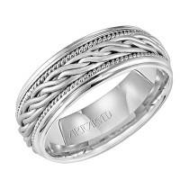 Men's Artcarved Wedding Band - 11-WV1650W