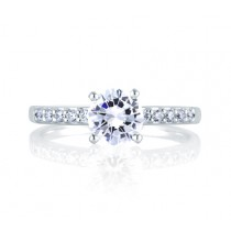 CLASSIC SHARED PRONG ENGAGEMENT RING