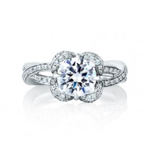 DIAMOND FLORAL SEASONS OF LOVE ENGAGEMENT RING
