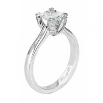 Michael M Princess-Cut Diamond Solitaire Engagement Ring