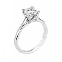 Michael M Solitaire Diamond Engagement Ring