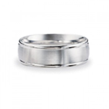 14 KARAT WHITE GOLD GENTS BAND - 2782G