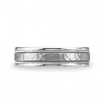 14 KARAT WHITE GOLD GENTS BAND - 2787G