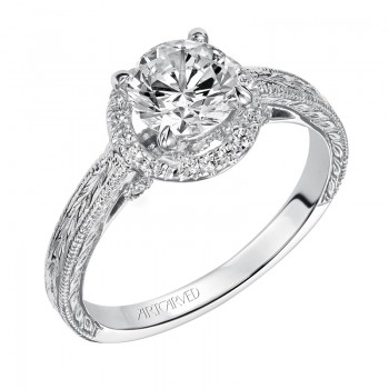 """Makayla"" Diamond Engagement Ring"