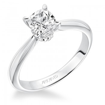 """Paige"" Diamond Solitaire Engagement Ring"