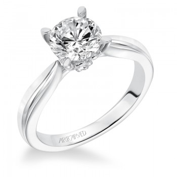 """Nelly"" Solitaire Diamond Engagement Ring"