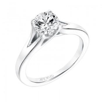 Kathleen' Classic Diamond Solitaire Engagement Ring - 31-V740ERW