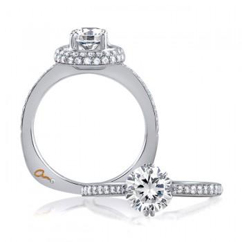18 KARAT WHITE GOLD WEDDING RING with 58 Diamond(s) 0.47ctw