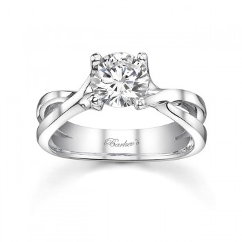 PLATINUM SOLITAIRE WEDDING RING