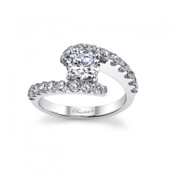 White Gold Engagement Ring - 7737LW