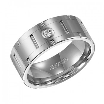 Men's Artcarved Wedding Band - 22-V2510C