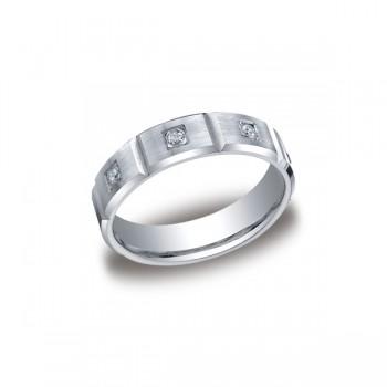 Diamonds White Gold 6mm Diamond Band