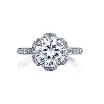 STATEMENT DIAMOND PETAL ENGAGEMENT RING