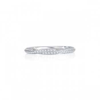 Exquisite Delicate Quilted Anniversary Band